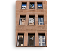 A Reflection of The General Post Office Clock Tower - Sydney - Australia Canvas Print