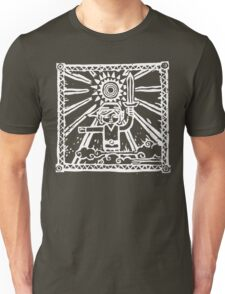 Wind Waker Block Print white Unisex T-Shirt
