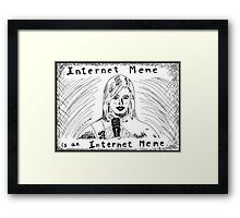 Internet Meme Miss South Carolina Framed Print