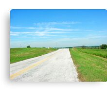 Open Country  Canvas Print