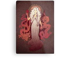 Dragon Mother Metal Print