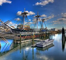 Winter Quarters -  The USS Constitution by Timothy M. Robison