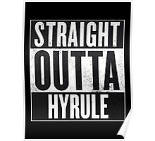 Straight Outta Hyrule - Zelda Poster