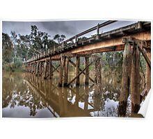 Toolamba Bridge Poster