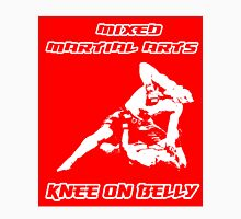 Mixed Martial Arts Knee On Belly Red Unisex T-Shirt