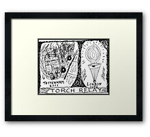 Panic in the streets of London Framed Print