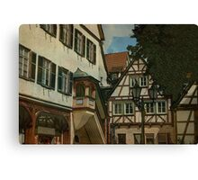 Beautiful Germany Calw, Black Forest Canvas Print