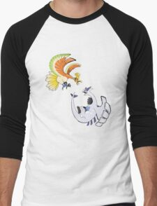 Ho-oh and Lugia - Pokemon Gold and Silver Men's Baseball ¾ T-Shirt