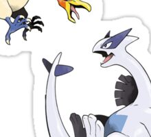 Ho-oh and Lugia - Pokemon Gold and Silver Sticker