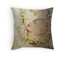 Sweet dreams - getting away from it all Throw Pillow