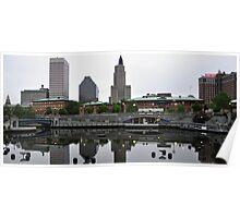 Providence Skyline  Poster
