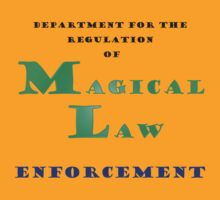 Department for Magical Law Enforcement by eggnog