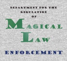Department for Magical Law Enforcement Kids Clothes