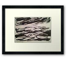 'Rough Seas, Sark' Framed Print