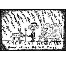 America's Heartland of the Political Maize Photographic Print