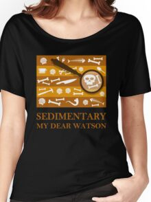 Sedimentary Watson! Women's Relaxed Fit T-Shirt