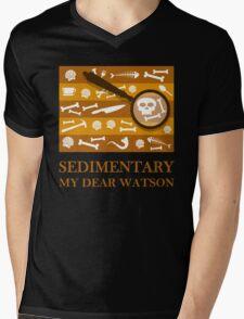 Sedimentary Watson! Mens V-Neck T-Shirt
