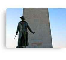The Man at Bunker Hill Canvas Print