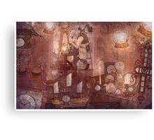 The Clockmaker Canvas Print
