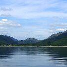 Sailing on Loch Long by Lynn Bolt