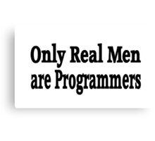 Programmer Canvas Print