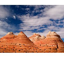The Coyote Butte Pyramids Photographic Print