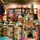Sleeping Beauty's Castle Model by Rechenmacher