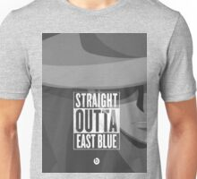 Straight Outta East Blue Luffy face Unisex T-Shirt
