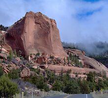 Entrance to Buffalo Pass- Chinle AZ by LCleaveland