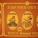 Disneyland Smashed Pennies by Rechenmacher
