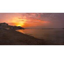 San Bartolomeo al Mare Sunrise. Photographic Print