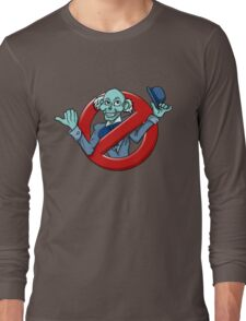 I Ain't Afraid Of No Hitchhiking Ghost - Ezra Long Sleeve T-Shirt