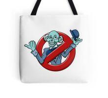 I Ain't Afraid Of No Hitchhiking Ghost - Ezra Tote Bag