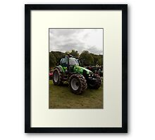 Tractor in police livery Framed Print
