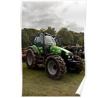 Tractor in police livery Poster