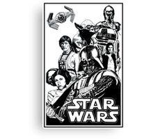 SW 1980 Canvas Print