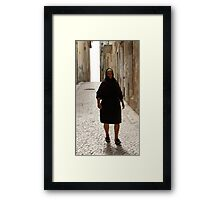 Portuguese Widow, I Framed Print