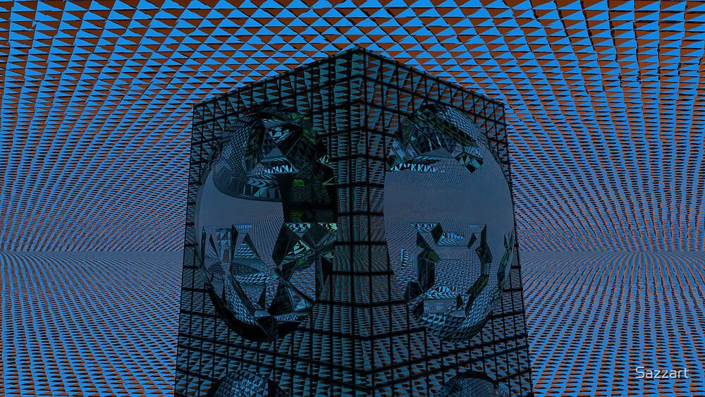 Funky Triage Light by Sazzart