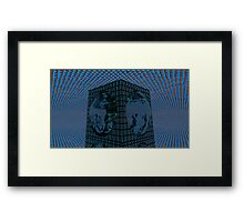 Funky Triage Light Framed Print