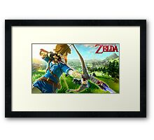 The Legend of Zelda - Wii U Framed Print