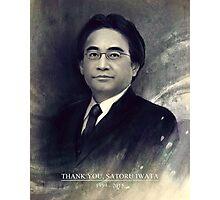 Thank You, Satoru Iwata 1959 - 2015 Photographic Print