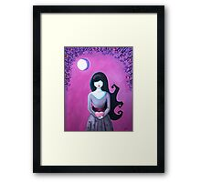 Wondering Raine Framed Print