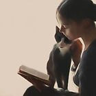 The PurrFect Read by DigitalandPhoto