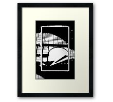 Railway Arch Abstract Nyugati Framed Print