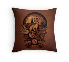 NINETEEN Throw Pillow