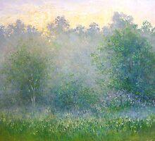 Summer mist by Julia Lesnichy
