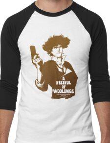 A Fistful of Woolongs Men's Baseball ¾ T-Shirt