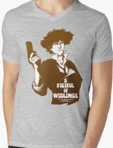 A Fistful of Woolongs Mens V-Neck T-Shirt