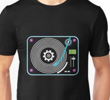 Neon turntable Unisex T-Shirt