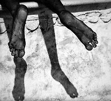 Sleepy feet by Mark Smart